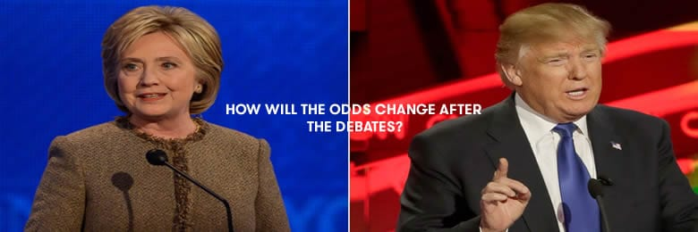 Presidential Debates For Clinton And Trump