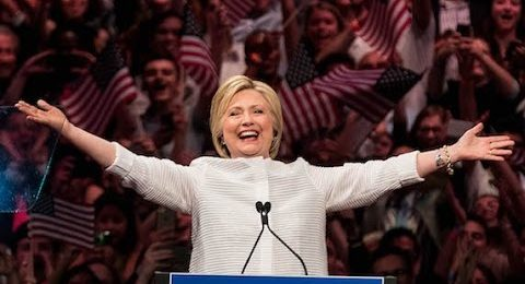 Hillary Clinton Leads In Presidential Betting Odds