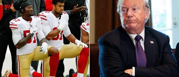 Trump Had A Hand In NFL Kneeling Policy