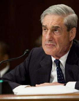 Mueller sits and awaits to hear testimony