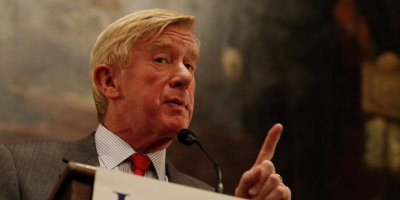 Bill Weld Launches 2020 Campaign