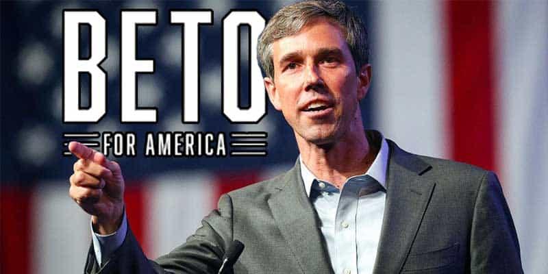 Beto O[Rourke announcing presidential run