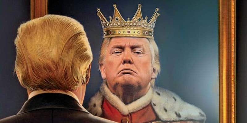 Trump Sees Himself as King