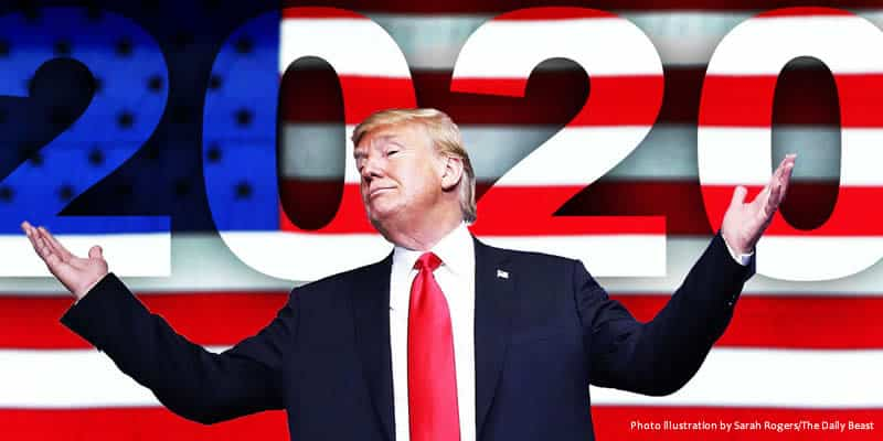 Trump is still the favorite for 2020