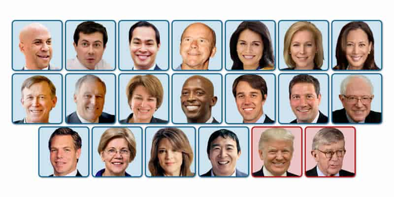 All 2020 presidential candidates