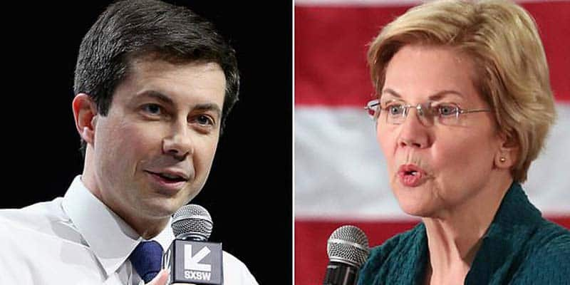 Buttigieg and Warren