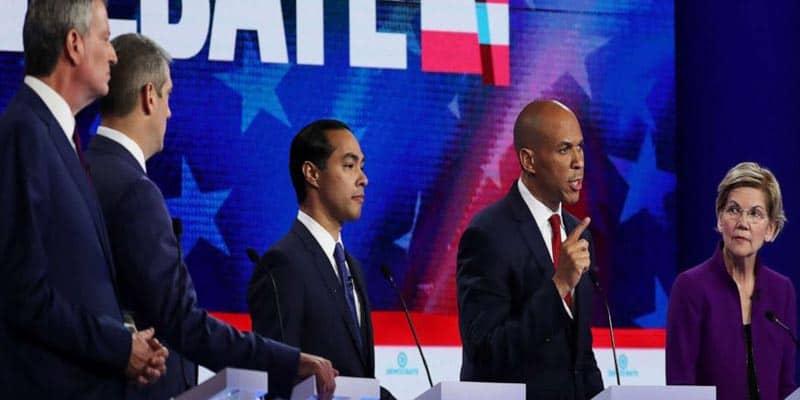 Night 1 of Debate