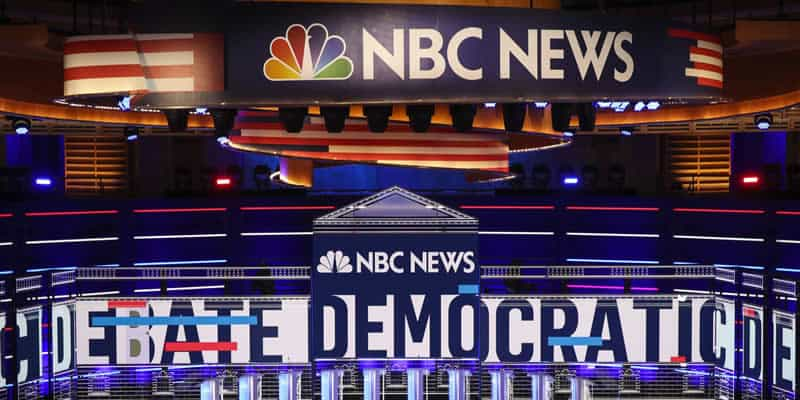 Stage for first Democratic debate of 2019