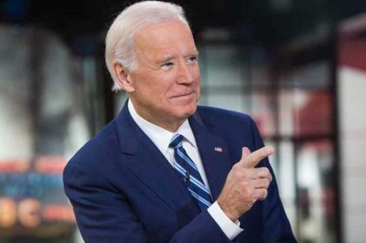 Biden on the rise