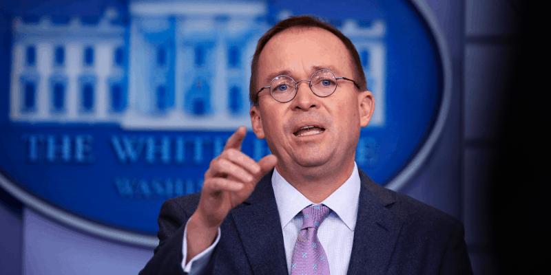 Mick Mulvaney White House