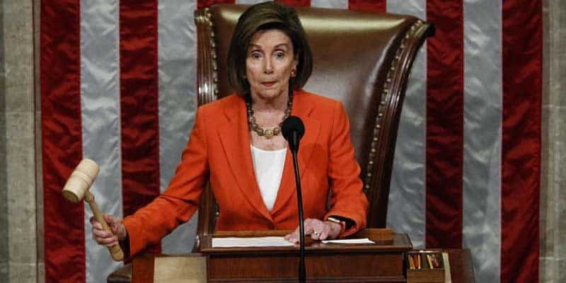 nancy pelosi house votes formalize impeachment inquiry