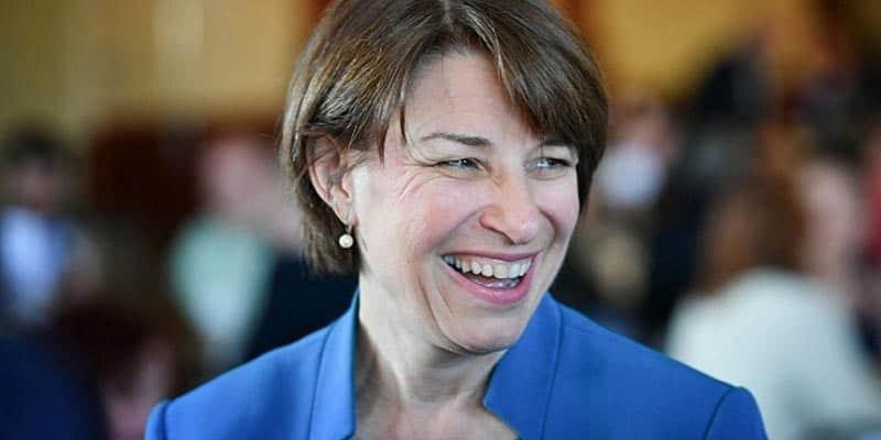 amy klobuchar qualifies fifth debate
