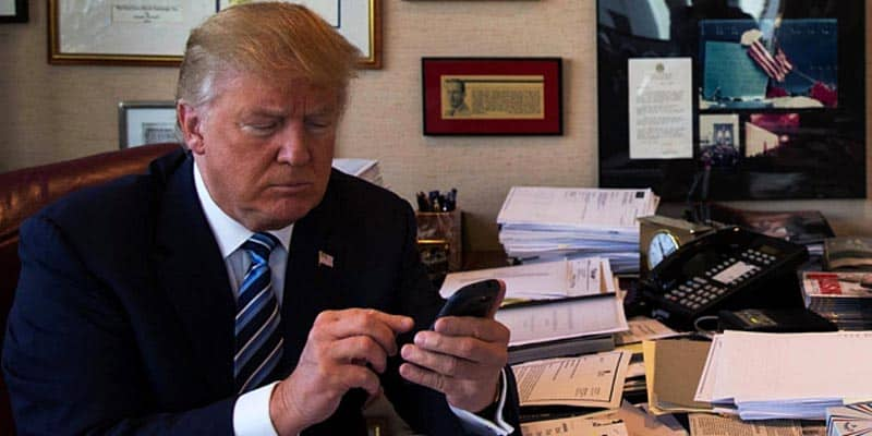twitter- donald trump seven dirty words