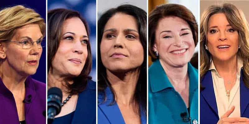 women deomcratic party candidates