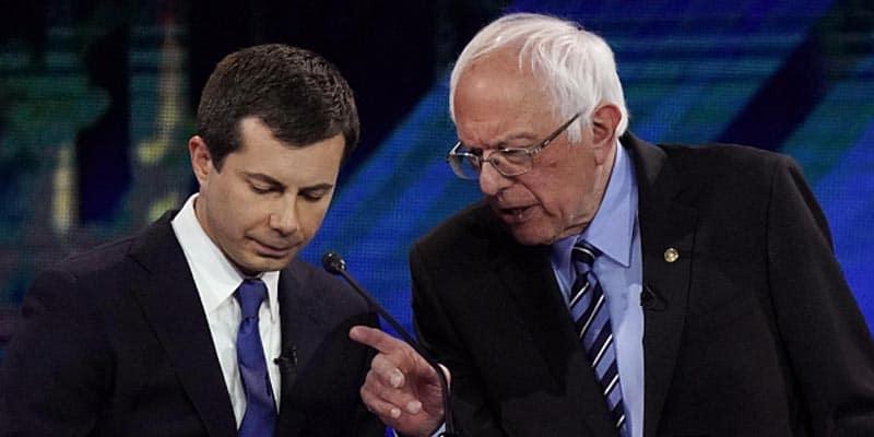 Bernie sanders iowa odds Pete buttigieg
