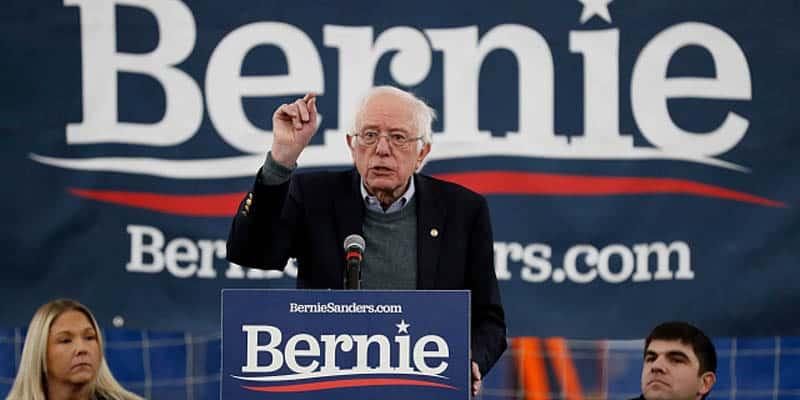 Bernie sanders surge polls odds