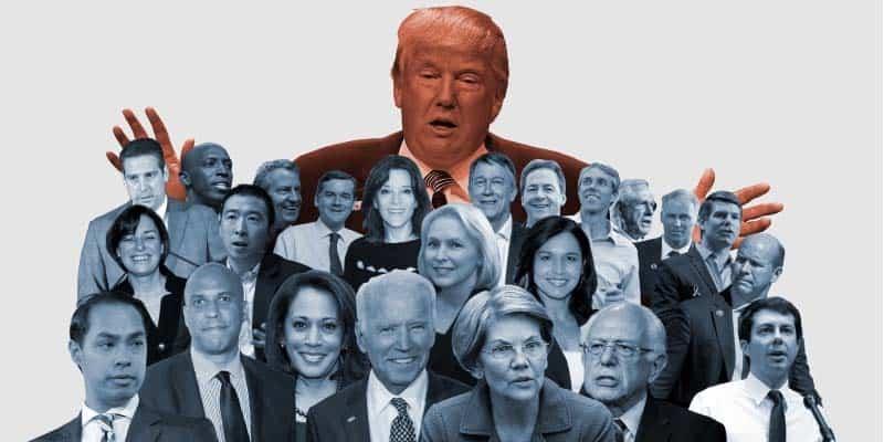 Trump-democratic-candidates