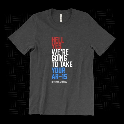 hell yes ar15 beto shirt