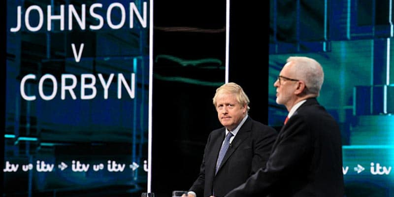 boris johnson jeremy corbyn uk general election