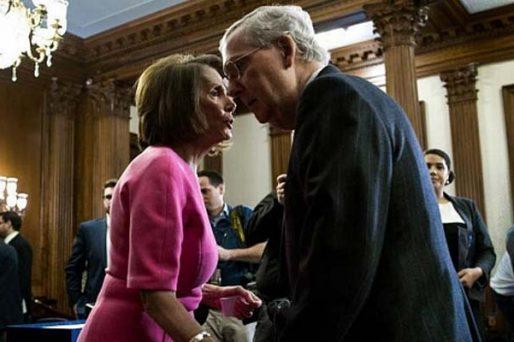 nancy pelosi mitch mcconnell senate removal vote