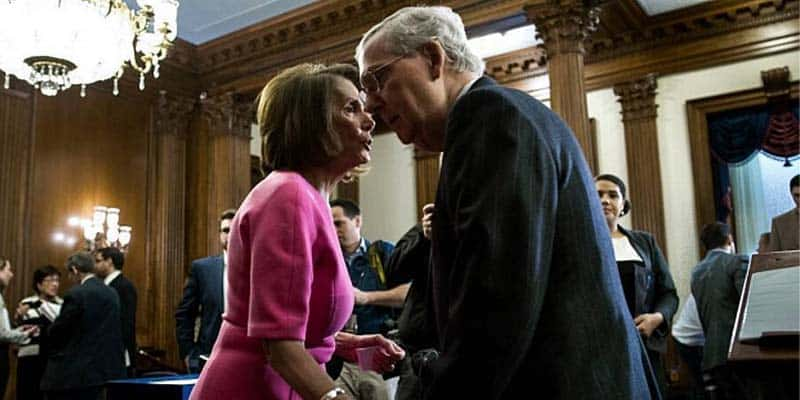 nancy pelosi mitch mcconnell senate removal vote