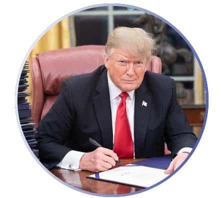 Trump Desk Icon