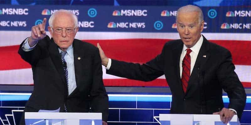 Biden Bernie South Carolina Odds