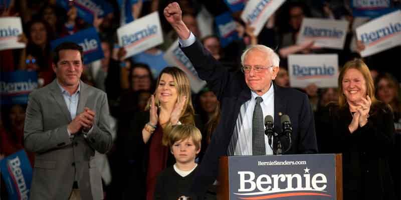 Bernie 2020 odds