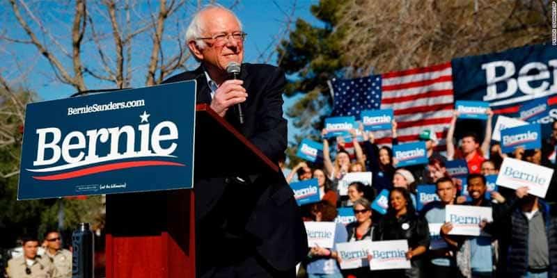 Bernie-rally