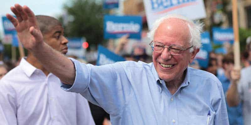 Bernie Sanders odds