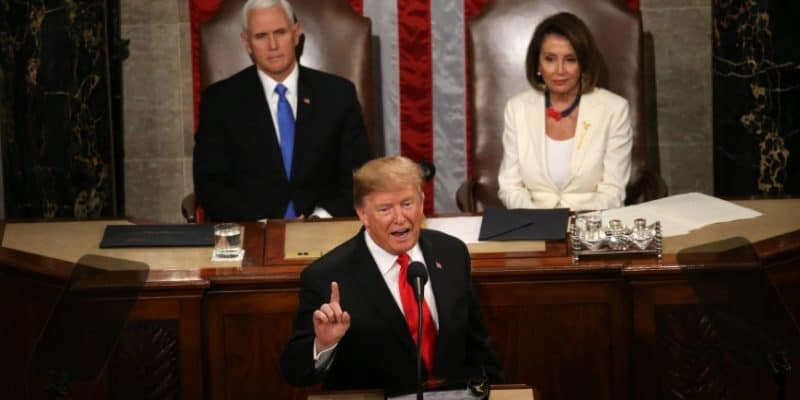 Trump state of the union props 2020