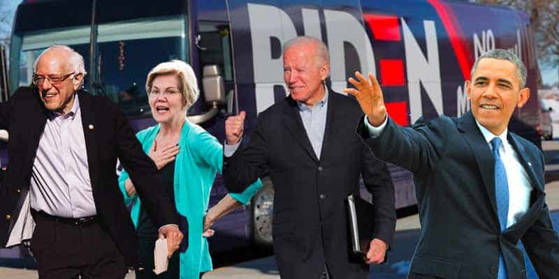 Biden 2020 Odds Obama Bernie Warren Endorse