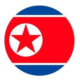 North Korea button