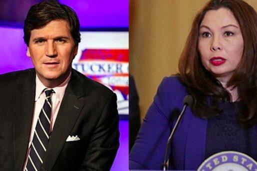 Tucker Carlson and Senator Tammy Duckworth
