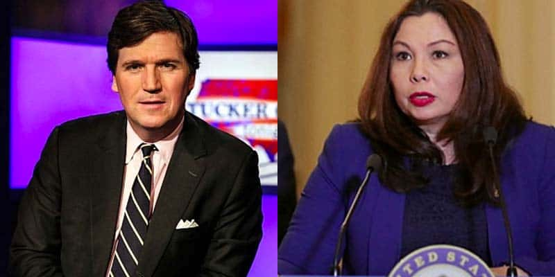 Tucker Carlson and Senator Tammy Duckworth