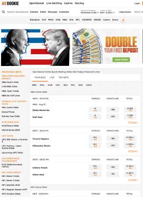 MyBookie Politics