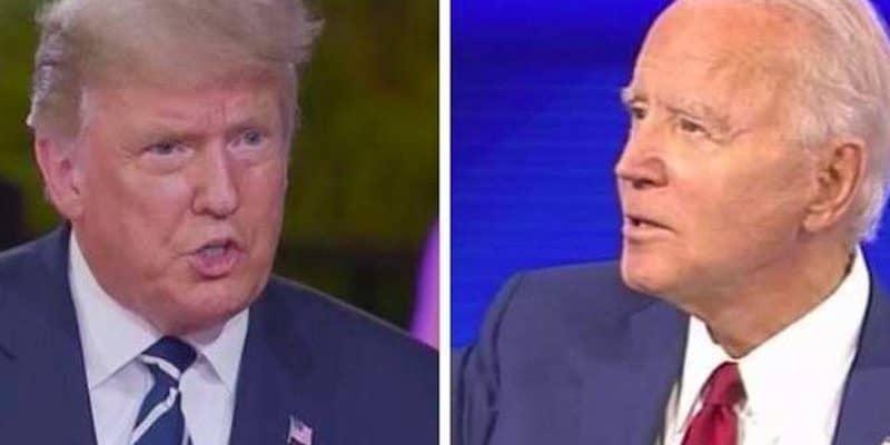 Trump Biden faceoff