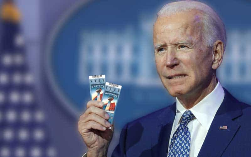 Biden Super Bowl Tickets