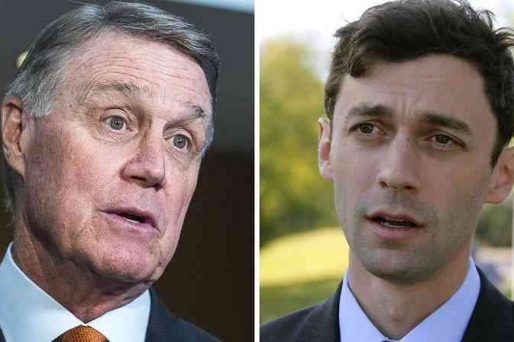 David Perdue and Jon Ossoff