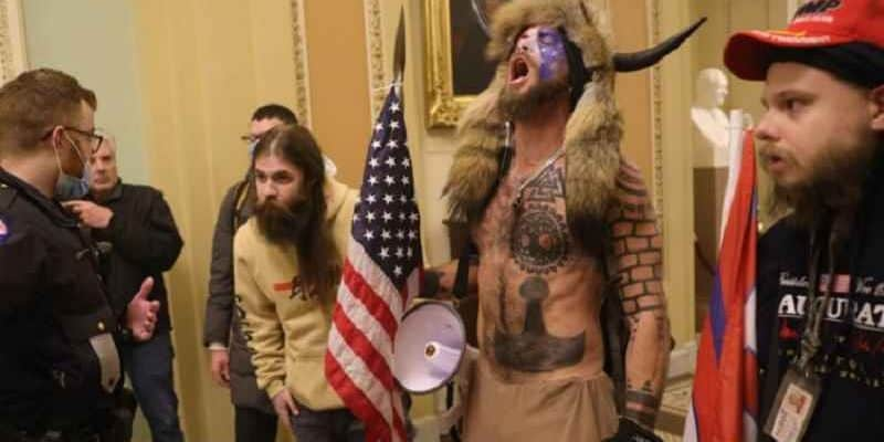 Trump Supporters In Capitol