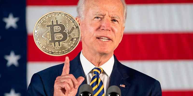 Financial Market prop bets ask the value of BTC following Biden's speech