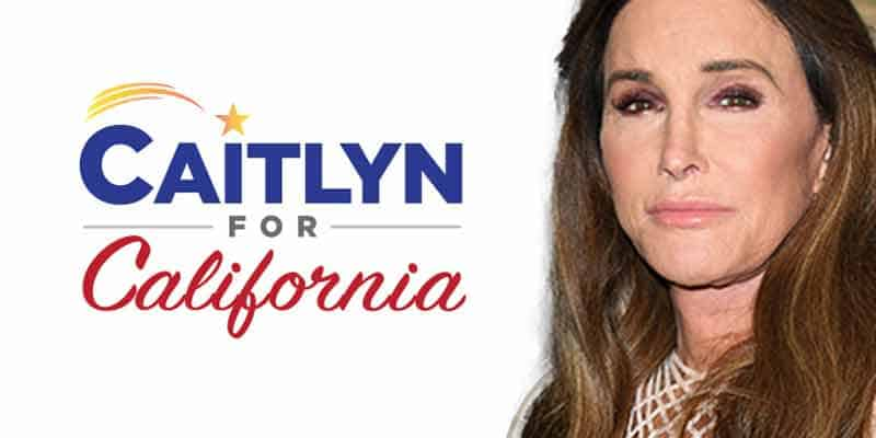 California Governor Odds For Caitlyn Jenner