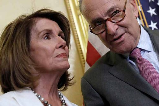 Schumer and Pelosi are upset about US House betting odds for 2022