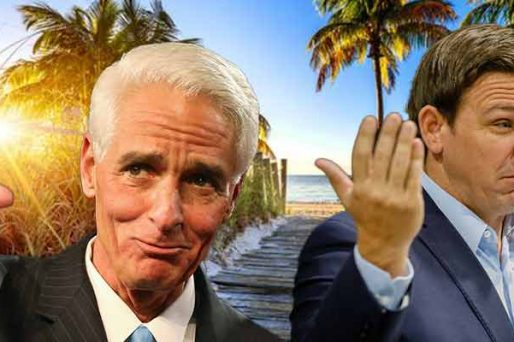Florida Gubernatorial odds for DeSantis Crist 2022