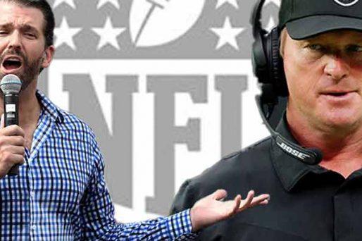 Don Trump Jr calls out NFL over Gruden emails